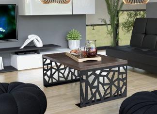 Najpopularniejsze stoliki kawowe do salonu