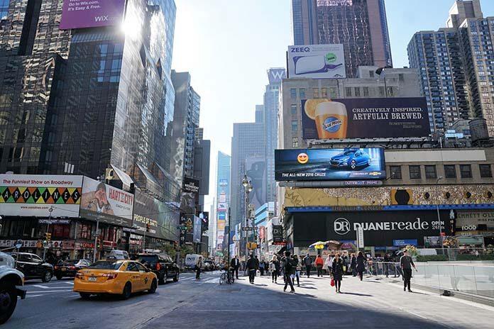 Reklama cyfrowa w miejscach publicznych